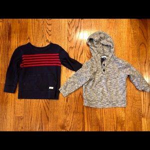 3T Gap and Old Navy boys sweatshirts